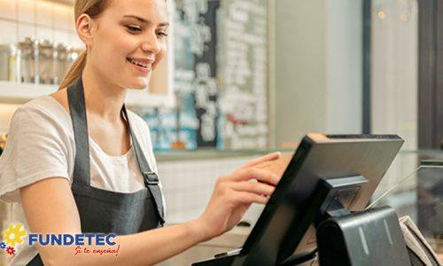 Caja Registradora Con énfasis en Servicio al Cliente